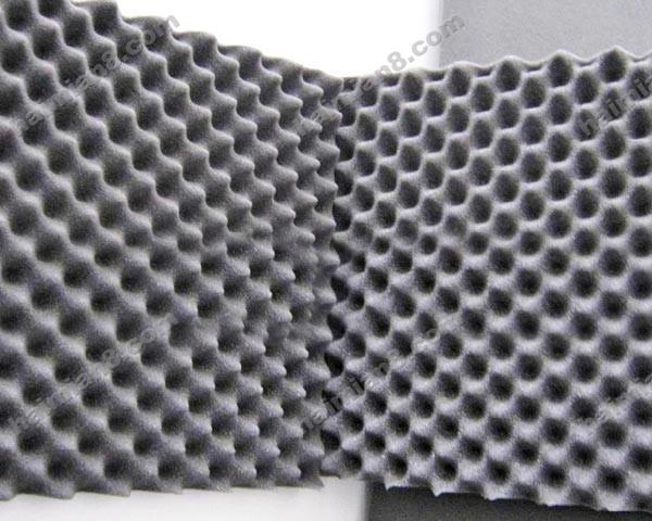 海绵吧提供生产(小花型)波浪棉厂家