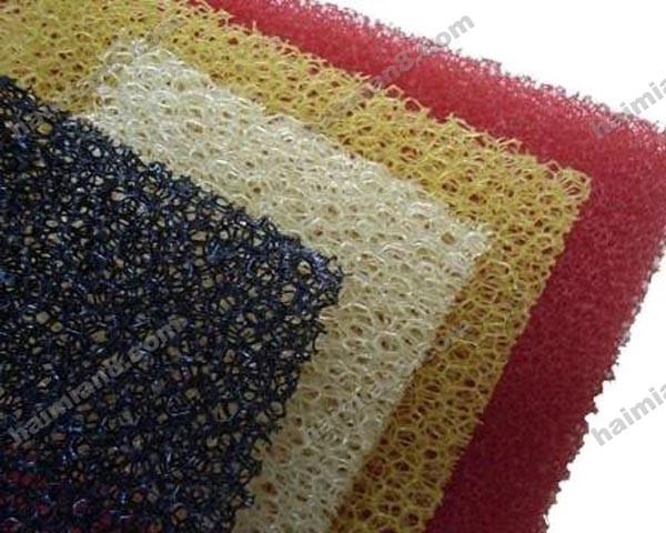 海绵吧提供生产网状过滤棉厂家厂家